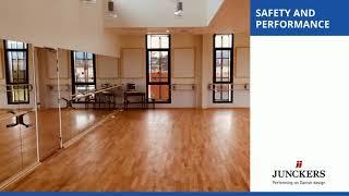 Hardwood Dance Flooring Video