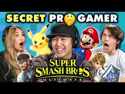 Professional Smash Bros Player DESTROYS Gamers (React) - UCHEf6T_gVq4tlW5i91ESiWg