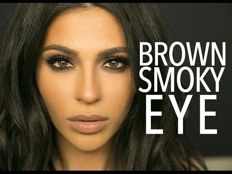 Brown Smokey Eye Makeup Tutorial | Teni Panosian - UCojExR87u5xNXSkrJ26ORMA