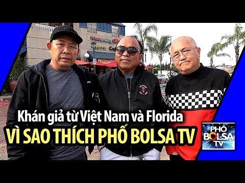 Khán giả từ Việt Nam và Florida: Vì sao yêu thích Phố Bolsa TV
