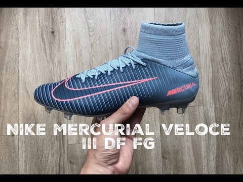 release date: 5c40c 2b35f Nike Mercurial Veloce III DF FG  rising fast pack    UNBOXING   football  boots   2017   HD
