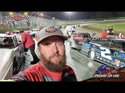 #11c Campbell Hughes - 602 Sportsman- Magnolia Motor Speedway 5-29-21 - dirt track racing video image