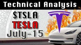 TESLA : TSLA July-15 Update StockMarket Technical Analysis Chart