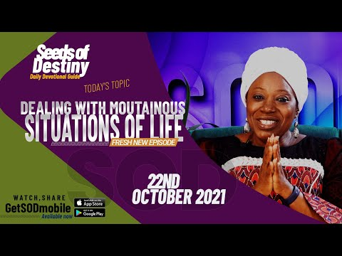 Dr Becky Paul-Enenche - SEEDS OF DESTINY  FRIDAY 22 OCTOBER, 2021