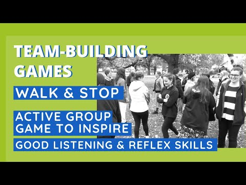 Active Game to Inspire Good Listening & Reflex Skills - Walk & Stop - UCLTChRD6rP44gkmGvRqRslA