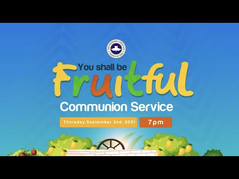 RCCG SEPTEMBER 2021 HOLY COMMUNION SERVICE