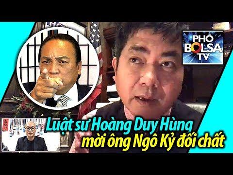 Luật sư Hoàng Duy Hùng từ Houston gửi lời mời ông Ngô Kỷ đối chất