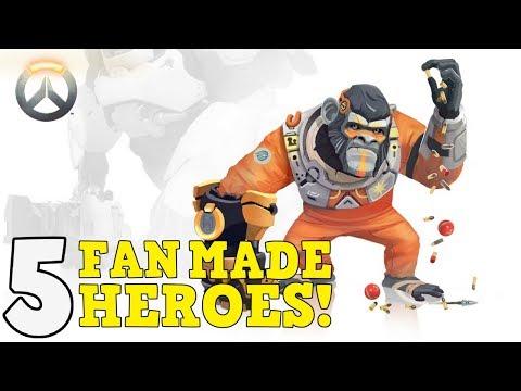 Overwatch Top 5 Fan Made Heroes  #8 - default