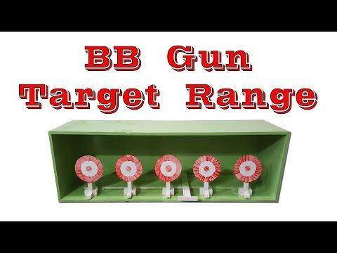 BB Gun Target Range (With Quick Reset Feature)