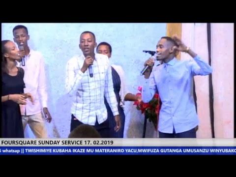 LIVE  FOURSQUARE GOSPEL CHURCH SUNDAY SURVICE