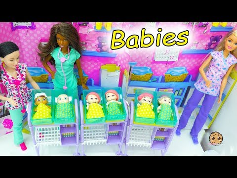 Baby Secrets At Barbie Hospital - Surprise Blind Bag Babies with Color Changing - UCelMeixAOTs2OQAAi9wU8-g