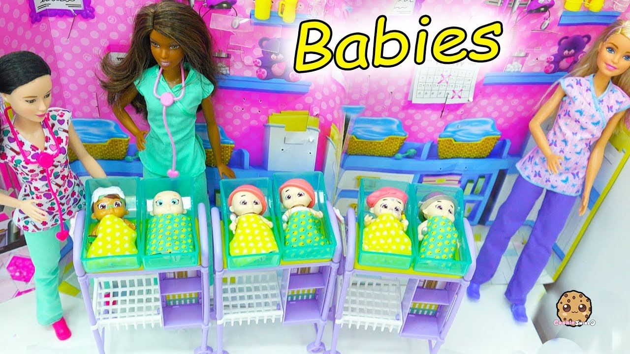 Baby Secrets At Barbie Hospital Surprise Blind Bag