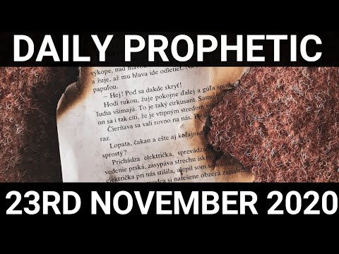 Daily Prophetic 23November 2020 4 of 12