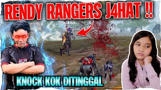 MABAR FREE FIRE KNOCKED OUT DITINGGAL KAK RENDY RANGERS HIKS
