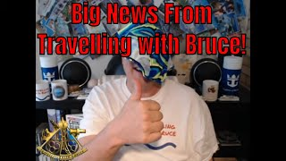 Big News For the Travelling with Bruce YouTube Channel!  Memberships are Now Available!