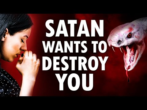 SATAN Wants to DESTROY You (this warning you must take seriously) - Morning Prayer