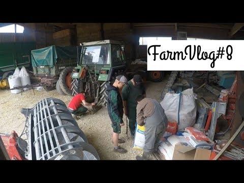 FarmVlog#8 Mineraldünger, Spritzen und das neue Fahrzeug