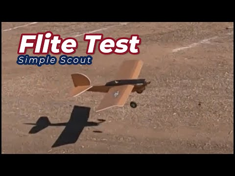 Flitetest Simple Scout - Quick Review 2019 - UCtw-AVI0_PsFqFDtWwIrrPA