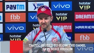 Tactic Is Used To Slow The Game, Says Mike Hesson