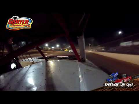 #01 Robbiw Martin - Stock 8 - 9-18-21 Sumter Speedway - In-Car Camera - dirt track racing video image