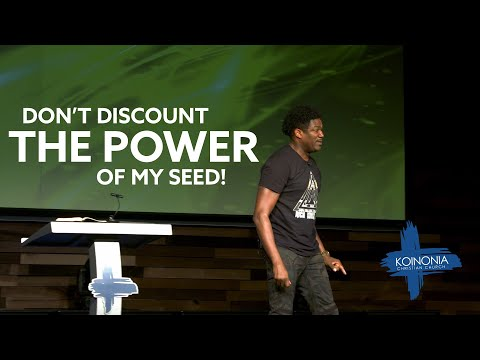 Where Are Your Seeds Planted? - Dr. Ronnie Goines