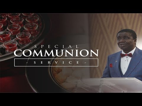 SPECIAL COMMUNION (3RD SERVICE) - JANUARY 06, 2019