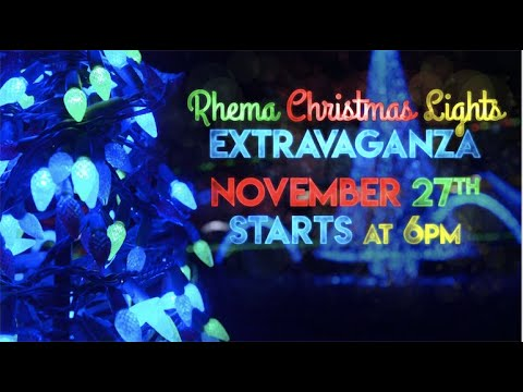 Rhema Video Announcements 11.17.19