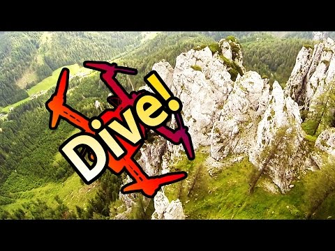 Awesome Quadcopter Dives in beautiful Mountains (RCSchim narrated FPV) - UCIIDxEbGpew-s46tIxk5T3g