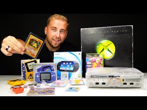 £200 Retro Gaming Haul - Finding A Crystal XBOX - UCRg2tBkpKYDxOKtX3GvLZcQ