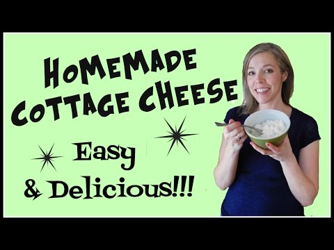 How to Make Homemade Cottage Cheese - EASY & Delicious!