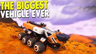 [LIVE🔴] WHY is this GAME SO GOOD? - Biggest Land Vehicles & Base Building | No Man's Sky Gameplay