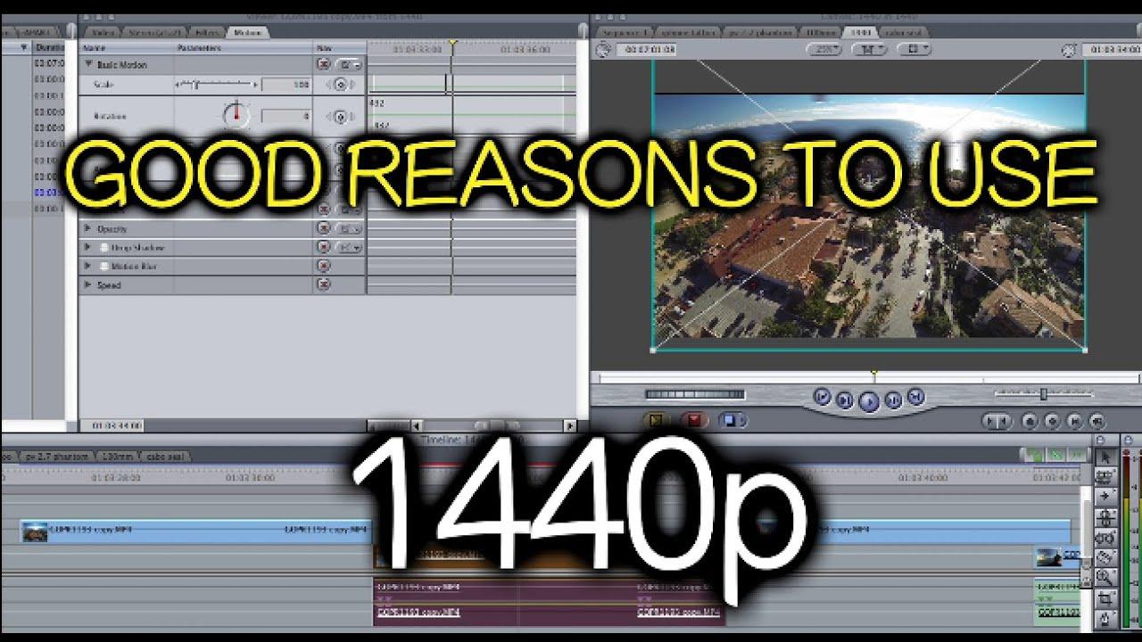 good reasons to use 4 3 960p 1440p 2 7k gopro tip 347