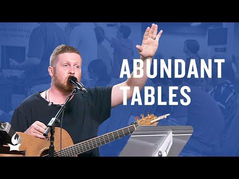 Abundant Tables (spontaneous) -- The Prayer Room Live Moment