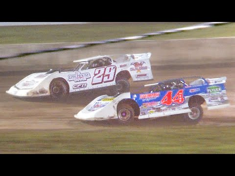 Super Late Model Feature | Eriez Speedway | 8-8-21 - dirt track racing video image