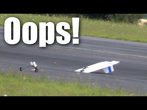Things that should not fly #9, Ron's Pizza-board RC plane - UCQ2sg7vS7JkxKwtZuFZzn-g