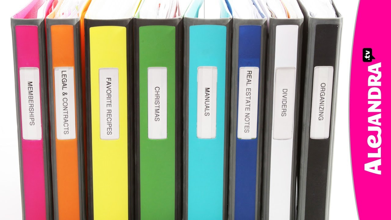 binder organization with better binders from staples audiomania lt