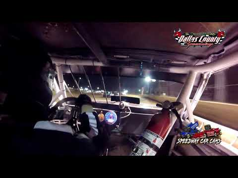#617 Todd Bithell- Pure Stock - 8-20-2021 Dallas County Speedway - In Car Camera - dirt track racing video image