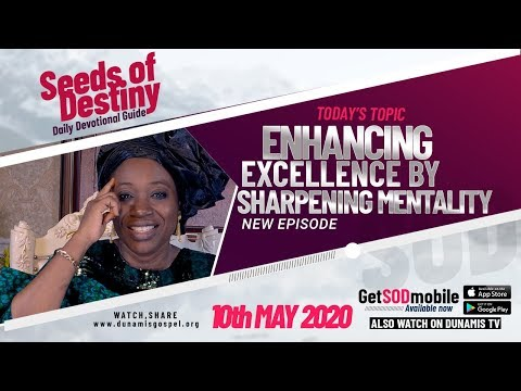 Dr Becky Paul-Enenche - SEEDS OF DESTINY  SUNDAY, 10 MAY, 2020