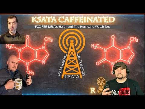 Caffeinated Radio: FCC Fees, Haiti, and Hurricane Watch Net