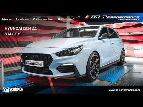 Hyundai I30N / Stage 2 By BR-Performance / SCORPION Decat