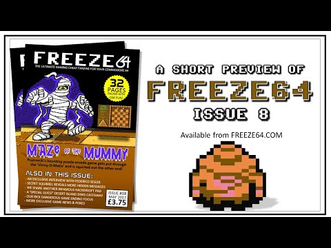 FREEZE64 fanzine issue 8 for the Commodore 64