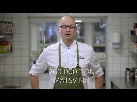 Kocken Johan i kampen mot matsvinn