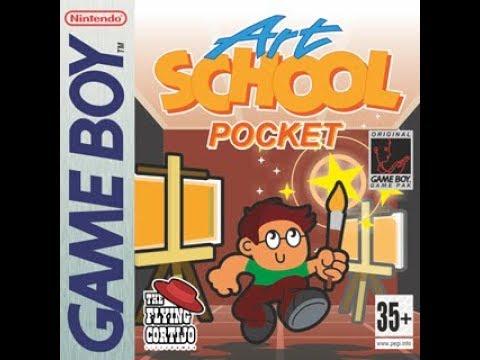 Canal Homebrew: Art School Pocket (The Flying Cortijo) Gameboy
