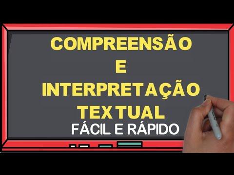 Compreensão e Interpretação Textual + Dicas I Português On-line