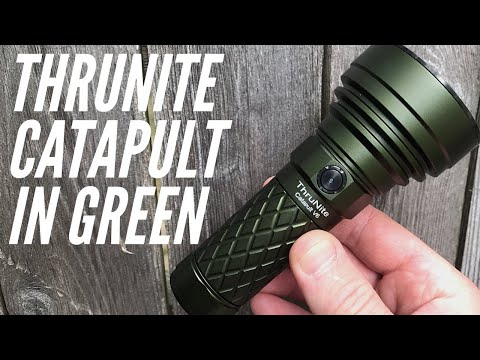 (SALE!) Thrunite Catapult V6 in Army Green: Compact Thrower For Your Bag, Car, Home