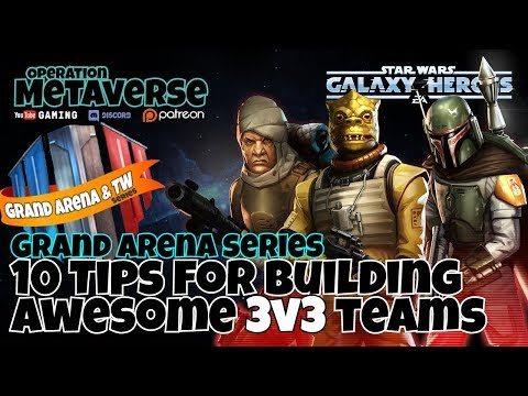 Ten essential tips for building 3v3 squads in Grand Arena - VidVui