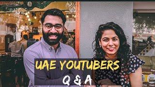 Z Talks 200k Subscribers Meet Up I UAE Youtubers Q & A I Malayalam Vlog