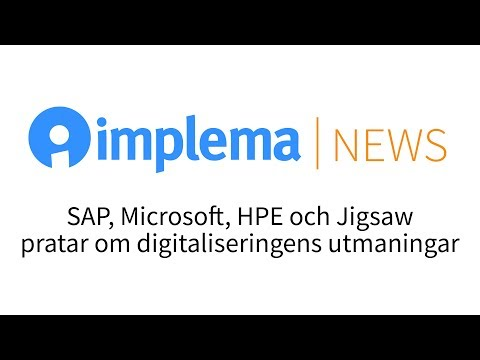 Implema News: digitaliseringens utmaningar