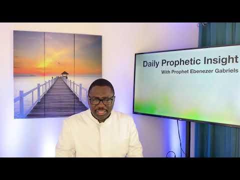 Prophetic Insight  Mar 11th, 2021