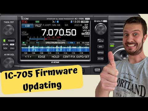 How To Update the Firmware on the Icom IC-705